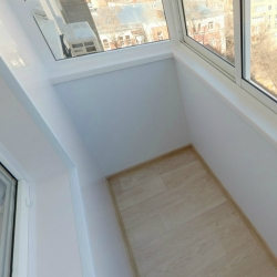отделка балкона панелями пвх