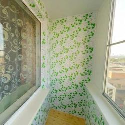 обшивка балкона в Минске
