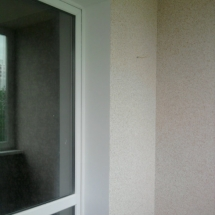 декоративная штукатурка балкона